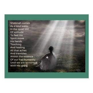 Cartão Postal Paz com deus