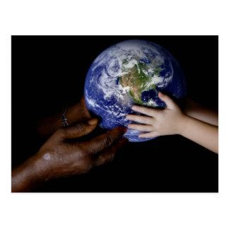Cartão Postal Paz de mundo