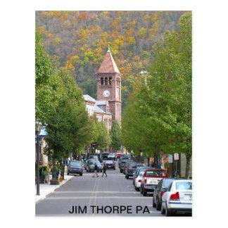 Cartão Postal pb030803_main_street2, PA de THORPE de JIM