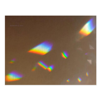 Cartão Postal PC 13 do molde de prisma