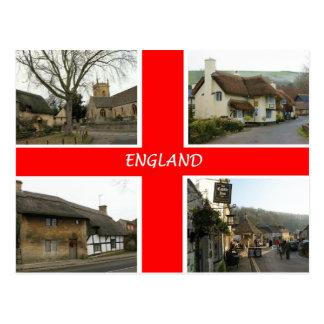 Cartão Postal PC de Inglaterra - personalizado - personalizado