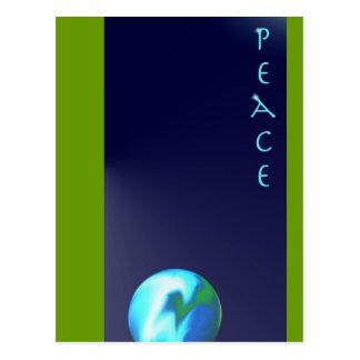 Cartão Postal Peace
