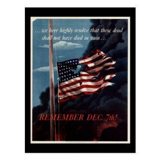 Cartão Postal Pearl Harbor