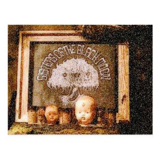 Cartão Postal Peças da boneca