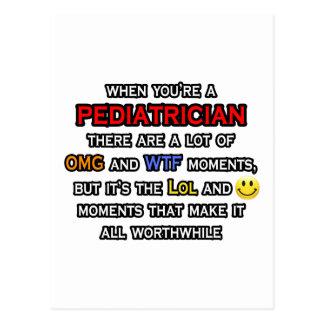 Cartão Postal Pediatra… OMG WTF LOL