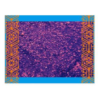 Cartão Postal Pedra tribal
