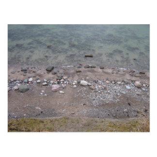 Cartão Postal Pedras a Mar Báltico