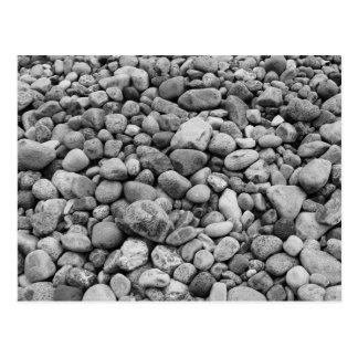 Cartão Postal Pedras a Mar Báltico cinzenta