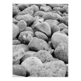 Cartão Postal /pedras a Mar Báltico, ilha