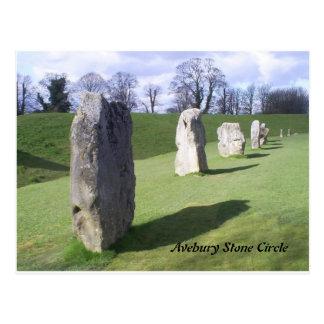 Cartão Postal pedras eretas