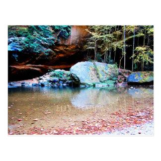 Cartão Postal Pedregulhos na caverna do ancião