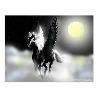 Cartão Postal Pegasus da lua
