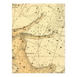 Cartão Postal Pegasus e Equuleus