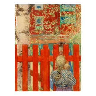 Cartão Postal Pela cerca