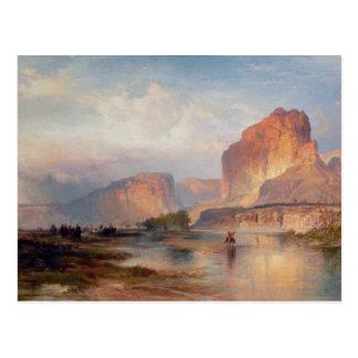 Cartão Postal Penhascos de Green River - 1874