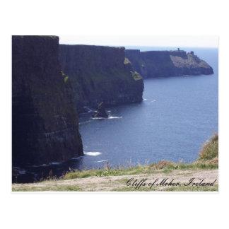 Cartão Postal Penhascos de Moher