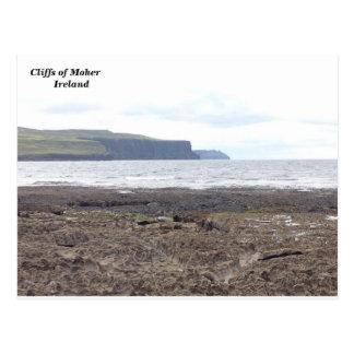 Cartão Postal Penhascos de Moher, Co. Clare, Ireland.