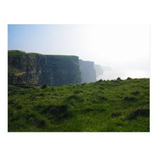Cartão Postal Penhascos de Moher - Ireland