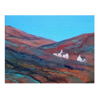 Cartão Postal Península Cornualha de Penwith do dia do outono