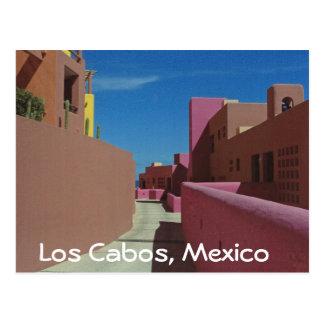 Cartão Postal Península de Baja das férias de Cabo, México