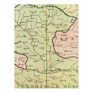 Cartão Postal Península de Balcãs, Hungria, Romania 2