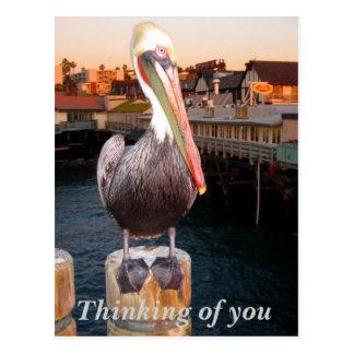 Cartão Postal Pensamento do you_Postcard