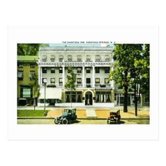 Cartão Postal Pensão de Saratoga, Saratoga Springs, New York