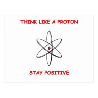 Cartão Postal pense o positivo