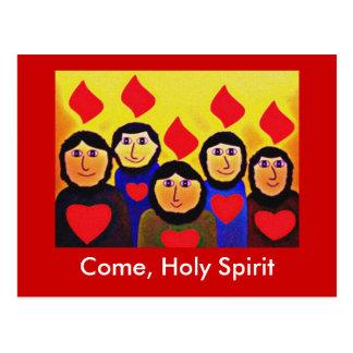 Cartão Postal Pentecost