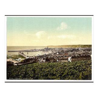 Cartão Postal Penzance, vista geral, clássico de Cornualha,