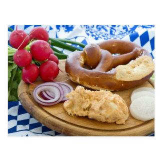 Cartão Postal Pequeno almoço de Oktoberfest