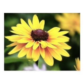 Cartão Postal Perfeição do jardim - Susan de olhos pretos