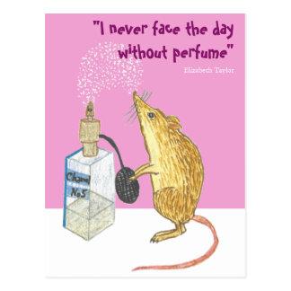 Cartão Postal Perfume -- essencial por um bom dia!