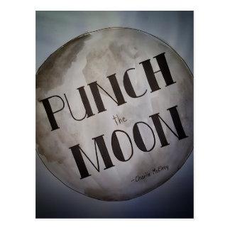 Cartão Postal Perfure os produtos da lua