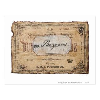 Cartão Postal Período | Bezoars de Harry Potter