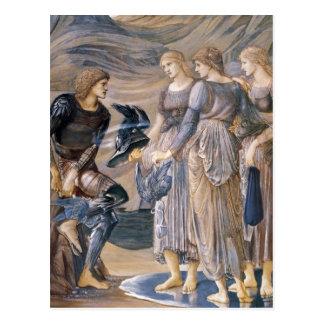 Cartão Postal Perseus e as ninfas de mar