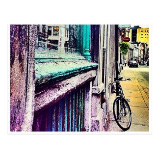 Cartão Postal Perspectiva velha-Montreal