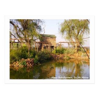 Cartão Postal Perto de Babsfontein, África do Sul