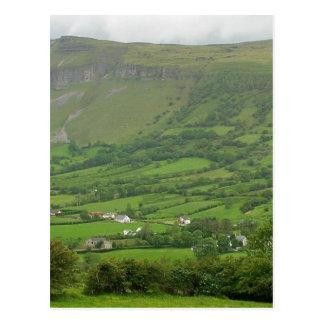 Cartão Postal Perto do Lough de Glencar em Ireland