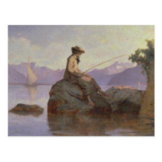 Cartão Postal Pesca