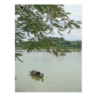 Cartão Postal Pescador
