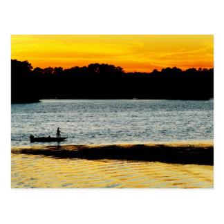 Cartão Postal Pescador só