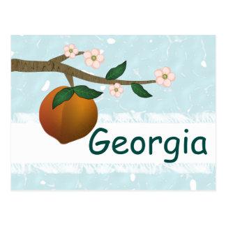 Cartão Postal Pêssego de Geórgia