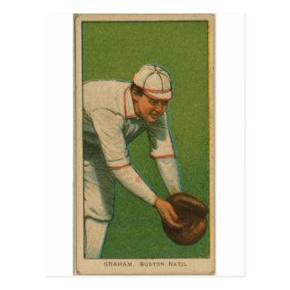 Cartão Postal Pêssegos Graham, pombas de Boston