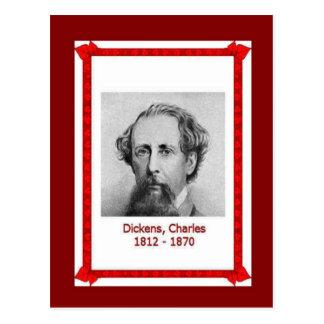 Cartão Postal Pessoas famosas, Charles Dickens 1812-1870