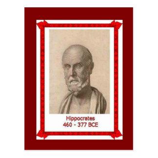 Cartão Postal Pessoas famosas, Hippocrates,