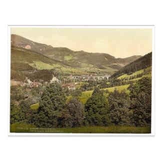 Cartão Postal Peyerbach (isto é, Payerbach), de Reichenau, mais