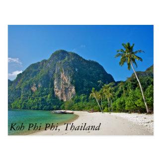 Cartão Postal Phi da phi do Koh, Tailândia