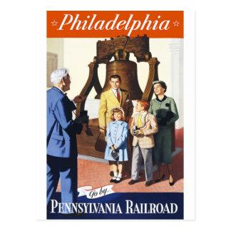 Cartão Postal Philadelphfia