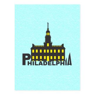 Cartão Postal Philadelphfia 1